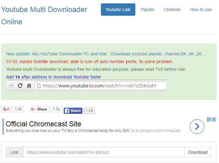 youtube-multi-downloader