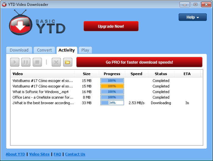youtube downloader free download software for xp