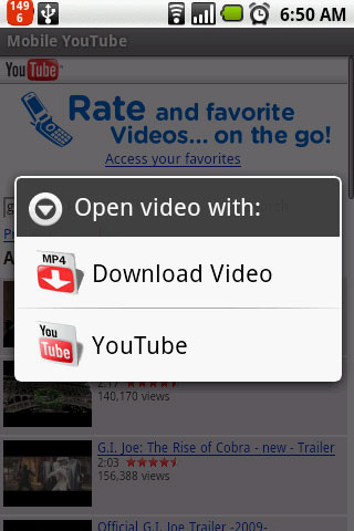 download youtube video to android phone free