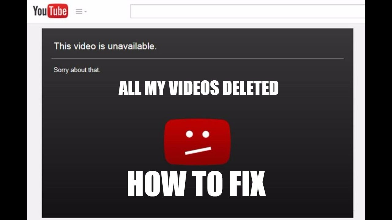 How to Watch Deleted YouTube Videos - video media io