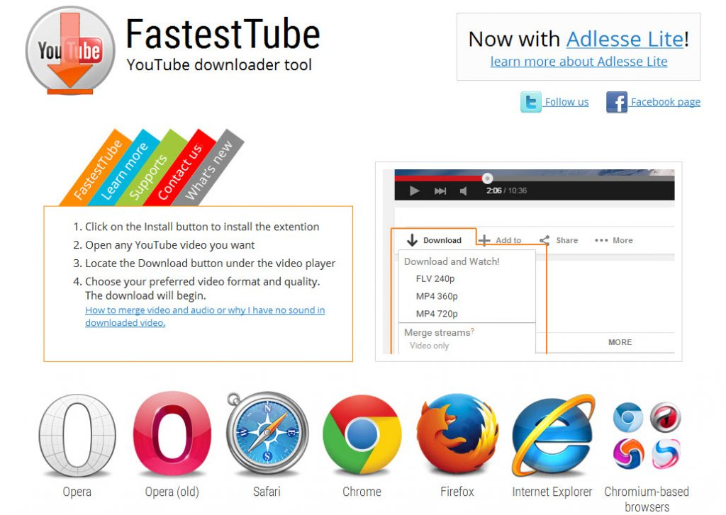 fastesttube_addon