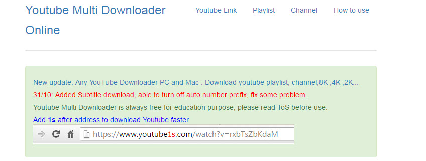 youtube multi-downloader